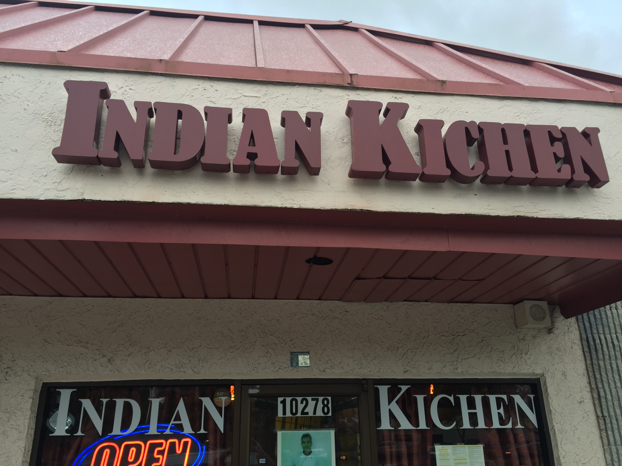 Store front Indian Kitchen
